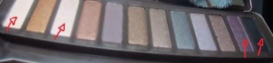 Paleta réplica Naked 2