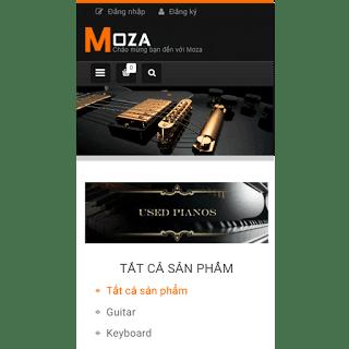 theme blog bán hàng guitar
