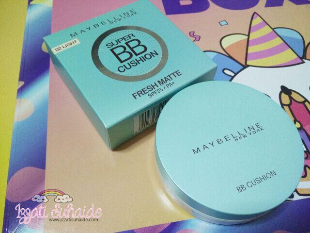 Maybelline Super BB Cushion Fresh Matte SPF29/PA+