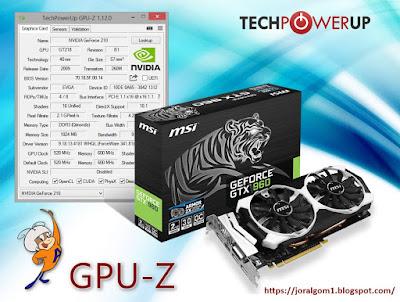 GPU-Z 1.12.0 · Toda la información de tu Tarjeta Gráfica / GPU