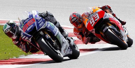 Soal Senggol Lorenzo, Honda Bela Marquez