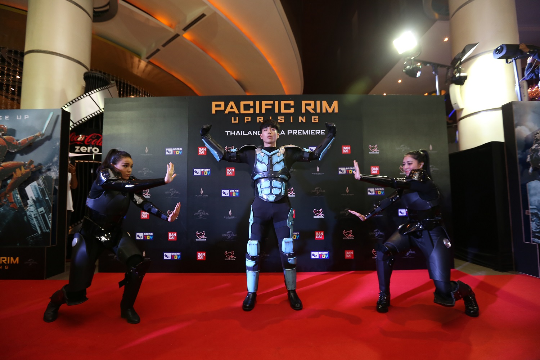 """เมเจอร์ ซีนีเพล็กซ์ จัดปาร์ตี้พรมแดง สานต่อความมันส์  ในงานเปิดตัว """"ThailandGala Premiere Pacific Rim : Uprising"""""""