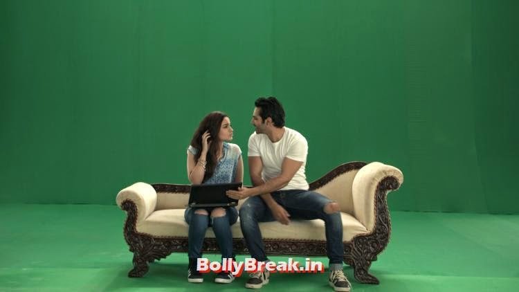 ,  Alia Bhatt & Varun Dhawan Shoot for Life OK Awards