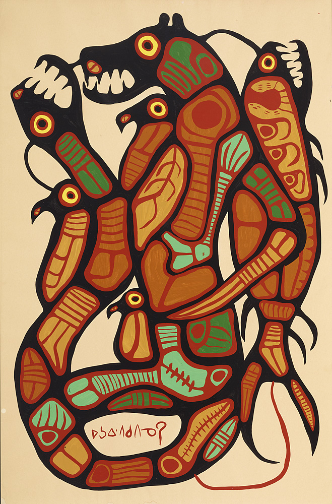 Genuine Morrisseau from KRG: 50-year retrospective honours ...