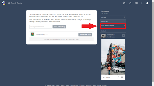 add google analytic to tumblr blog 2