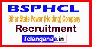 Bihar State Power (Holding) Company Limited BSPHCL Recruitment 2017
