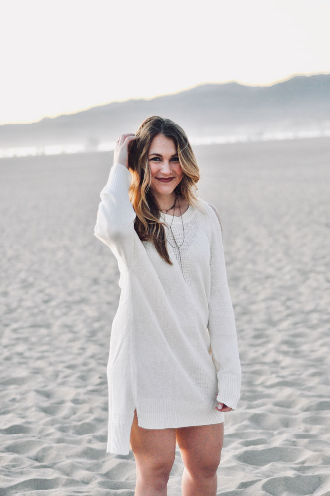 Beachy Sweater Dress