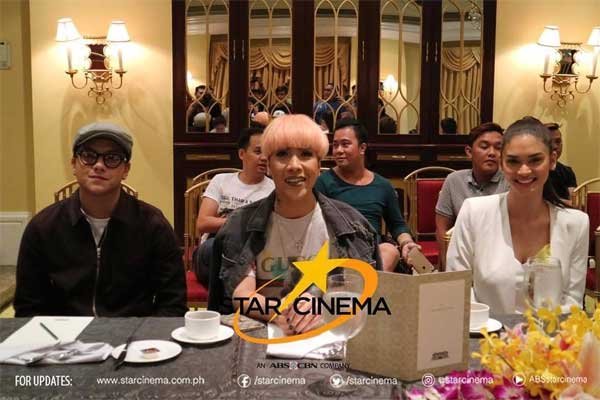 Photos: Daniel Padilla, Pia Wurtzbach, and Vice Ganda movie under Star Cinema