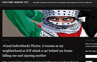 Palestine from my eyes, Article, Palestine, Website, View, Picture, Blood,