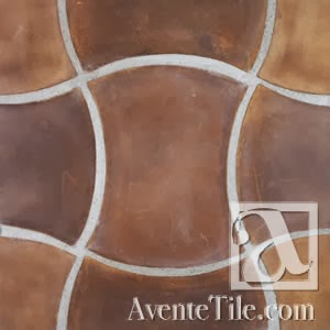 Arabesque Durango Spanish Paver Handmade Cement Tile