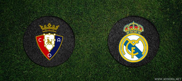 ريال مدريد واوساسونا بث مباشر
