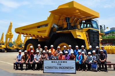 Lowongan Kerja PT Komatsu Indonesia
