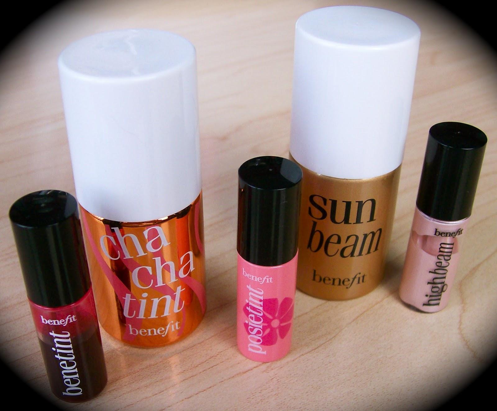 Benefit cha cha tint lip & cheek stain 4ml bnwb sample size   ebay.