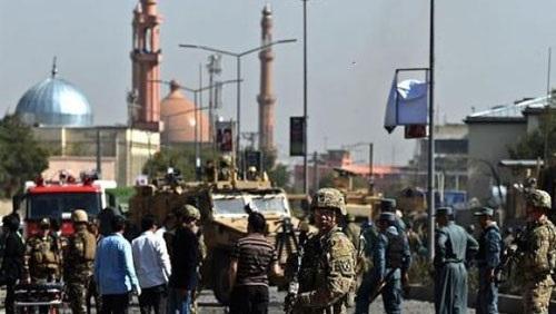 وقوع عدد كبير من الضحايا فى انفجار مسجد فى أفغانستان