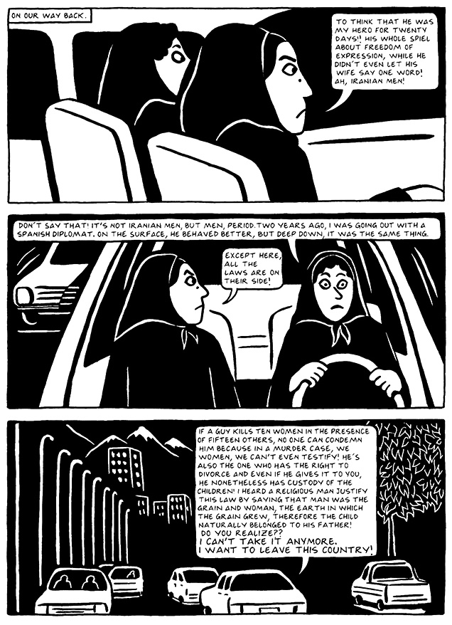 Read Chapter 19 - The End, page 183, from Marjane Satrapi's Persepolis 2 - The Story of a Return