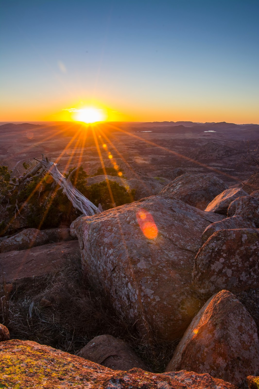 Mt. Scott Sunset, Wichita Mountains Wildlife Refuge