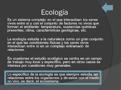 introducción ecología