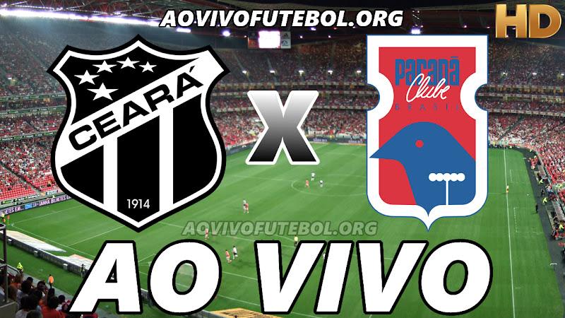 Ceará x Paraná Ao Vivo Online na TV