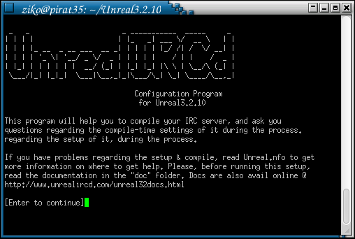 Cara Install UnrealIRCd / Buat IRC server sendiri