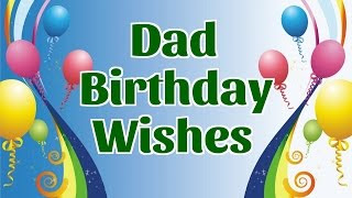 happy birthday wishes messages for dad