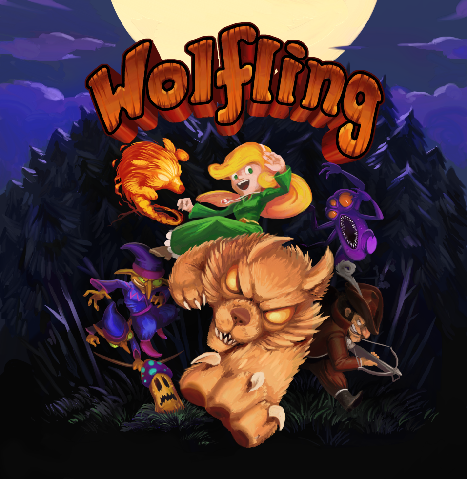 RGCD: Wolfling (Commodore 64, Commodore Amiga & PC/Linux/MacOS)