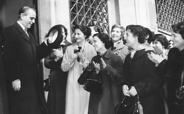 Πώς παγίδευσαν το 1957 το τηλέφωνο του Καραμανλή