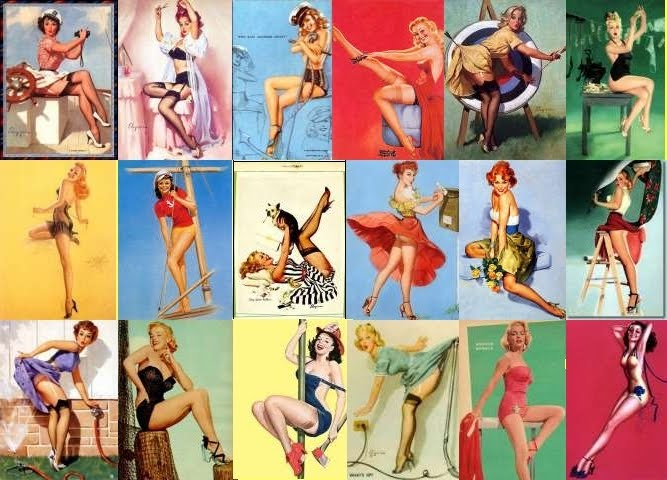 Chiaki's World: The 50's Fashion -- Pin Up!