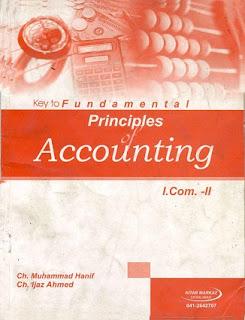 12th Class (Inter Part-2) ICOM Helping Book of Accounting - educatedzone.com