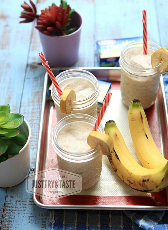 Resep Banana Cheese Smoothie Amp Talk Show Cooking Demo