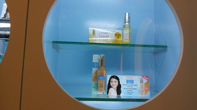 Liquid Gold and Aqua White BB Cream.