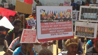 Dukung Gerakan Pembebasan Papua, Ratusan Aktivis Ditangkap