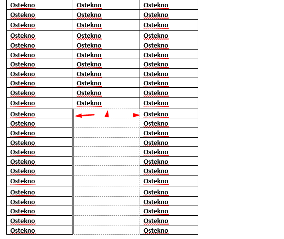 Cara Menghilangkan Tabel Kosong Pada Microsoft Word