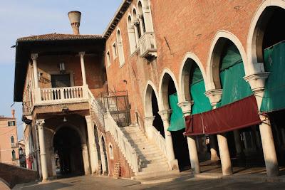 Mercato di Rialto in Venezia