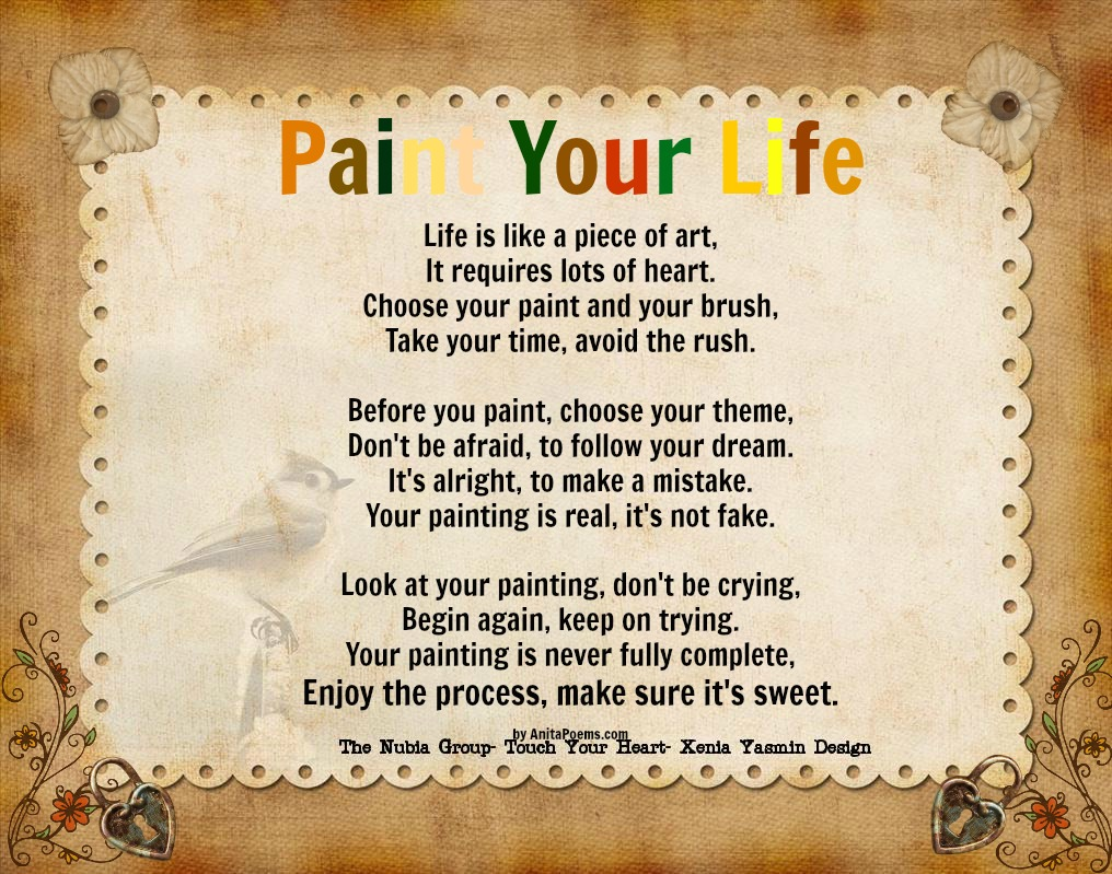 Paint The Picture Of Your Life Quotes