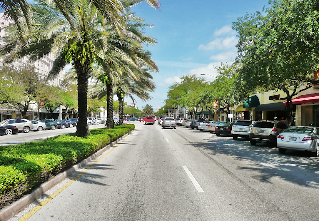 Miracle Mile en Coral Gables