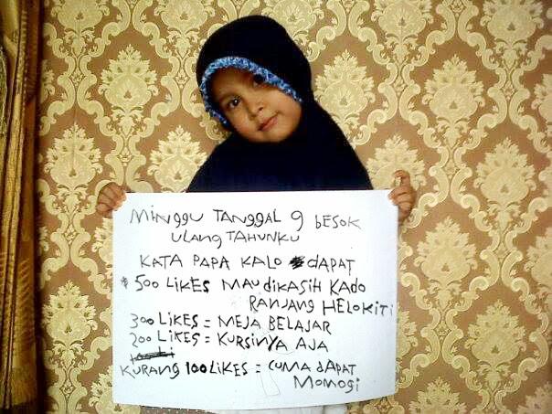 like facebook anak arham kendari