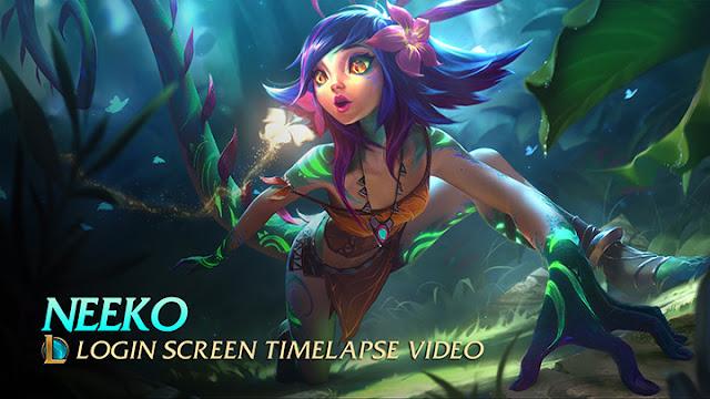 Neeko - Login Screen Wallpaper Engine