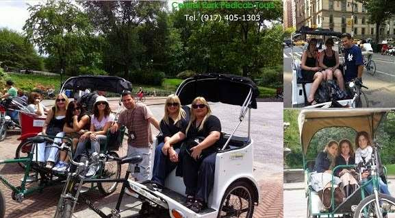 Central Park Tour by Pedicabs