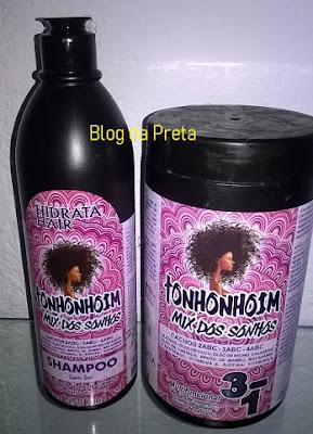 Tonhonhoin para cabelos crespos
