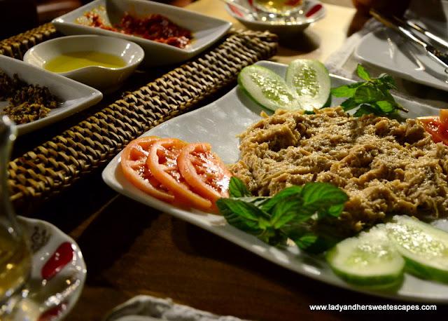Circassian Chicken at Kelebek