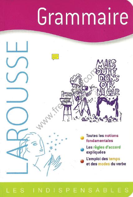 Télécharger livre: Grammaire - Les indispensables Larousse pdf gratuit