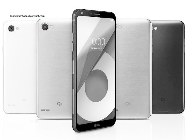 South Korean companionship LG is a footing famous companionship LG Q6+, Q6 as well as Q6a are launched