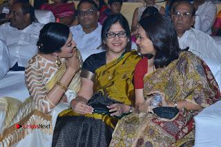 Actress Vimala Raman Stills in White Silk Saree at Om Namo Venkatesaya Audio Launch Event  0011.JPG