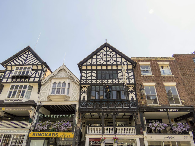 Things to do in Chester England. Half-timbered houses