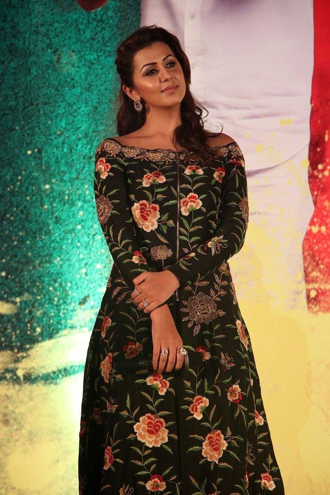 Nikki Galrani At Hara Hara Mahadevaki Movie Audio Launch