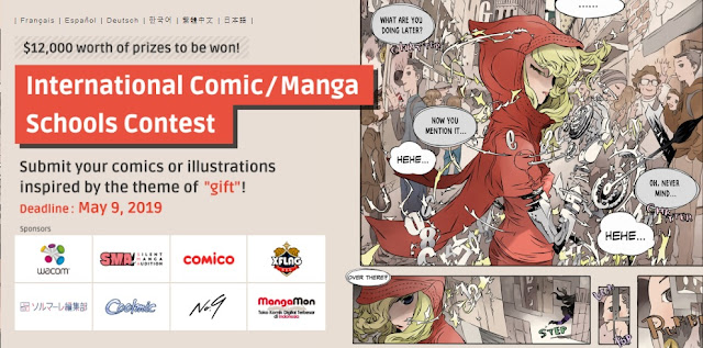 International Comic/ Manga Schools Contest, Japan 2019