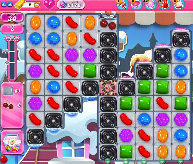 Candy Crush Saga level 2172