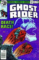 Ghost Rider v3 #35 marvel comic book cover art