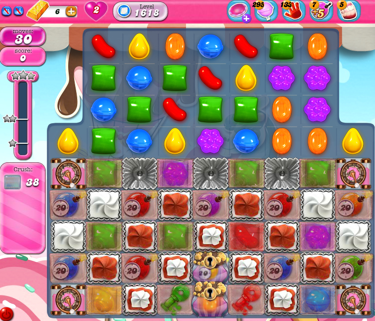 Candy Crush Saga 1618