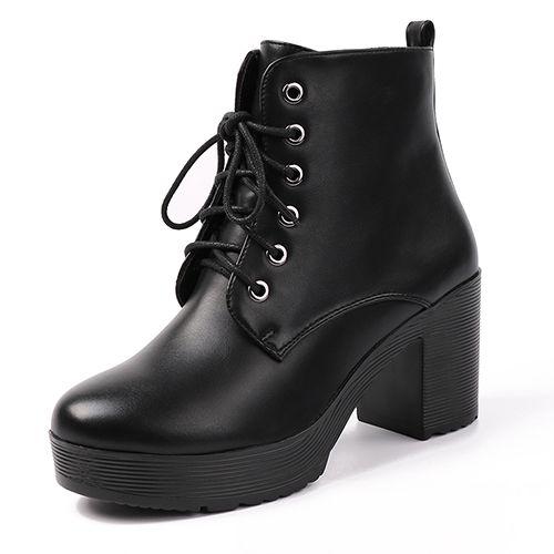 Black Fall Boots